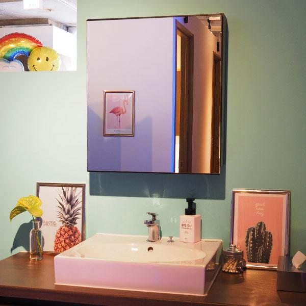 浅草 日焼けサロン LIEN 洗面台